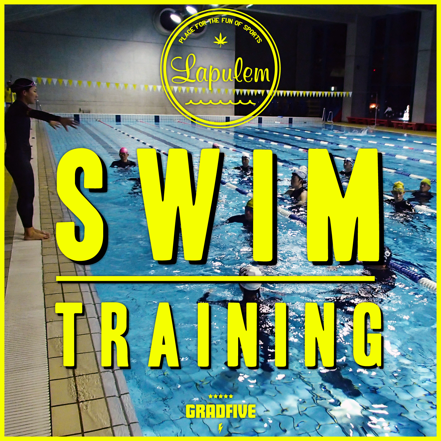 Swim Training by Lapulem×GRADFIVE