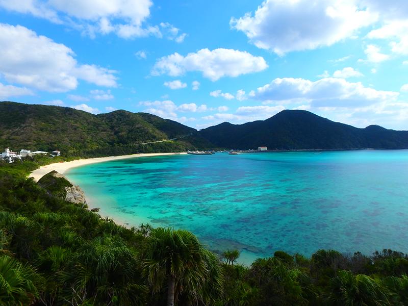 渡嘉敷島 阿波連ビーチ