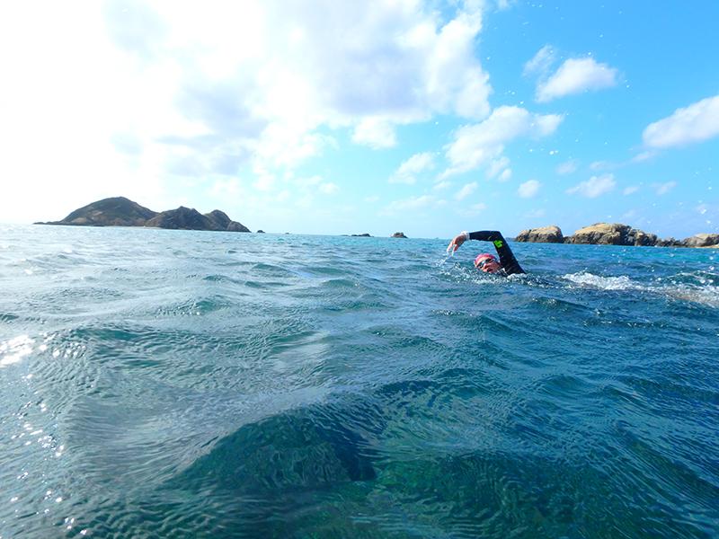 阿波連ビーチ 渡嘉敷島 ハナリ島