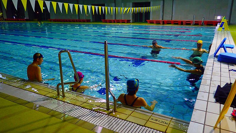 Lapulem楽に泳げるようになる為には。